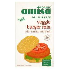 Amisa Organic Gluten Free Burger Mix - Tomato & Herb 140g