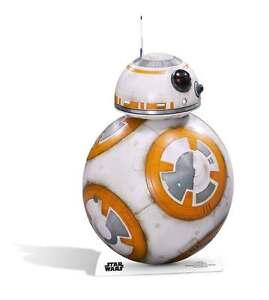 BB-8 Droid Star Wars The Force Awakens LIFESIZE CARDBOARD CUTOUT standee bb8
