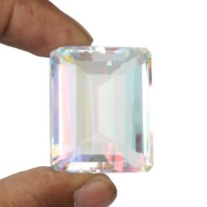 Multi Color Mystic Topaz 114.70 Ct. Fine Trillion Cut Loose Gemstone SR-173