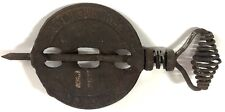 """Antique Griswold New American Reversible Steel Spindle Cast Iron 4"""" Erie PA 1423"""