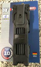 ABUS CityChain 1060//110 Kettenschloss Schwarz mit Codekarte Schlüsselschloss