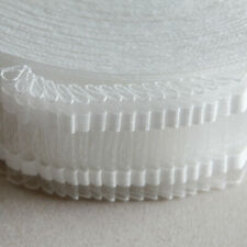 """2"""" Deep transparent curtain tape for nets, voiles & sheers - 10 metres"""