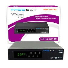 Freesat V7 dvb-S2& ATSC COMBO digital satellite terrestrial 1080P HD TV receiver