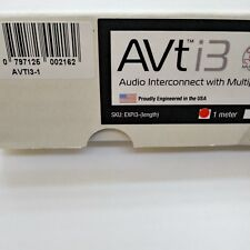 MIT AVTi3 Interconnect Cable in 1.0 Meters, from RCA to RCA