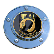 MotorDog69 POW-MIA Harley Timing Cover Coin Mount Set