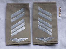 Bundeswehr Shoulder Marks: high-barreled, Air Force , White/Khaki