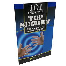 101 Magic Tricks with a Thumb Tip Book - Top Secret