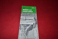 John Deere 480 Haybine Mower & Conditioner Dealer's Brochure YABE7