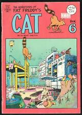 THE ADVENTURES of FAT FREDDY'S CAT #6, GILBERT SHELTON, RIP OFF PRESS VERY GOOD