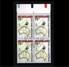 [A56_074] 1988 - Netherlands NVPH 1411 used (4-block) - 200 years Australia