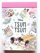 Disney TSUM TSUM Mini Memo Pad Mickey Minnie Dumbo Chip Dale Kamio Made in Japan