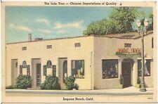 Jade Tree Chinese Importers in Laguna Beach CA Postcard