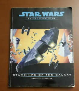 Starships of the Galaxy, Star Wars Roleplaying Game Revised Edition, Used