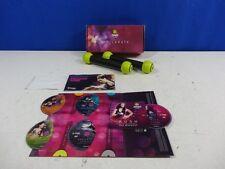 Zumba Exhilarate DVD Set 5 Disc and Toning Sticks