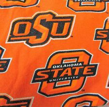 OSU Oklahoma State University Orange Medical Scrub Bottoms Pants Medium Surgery
