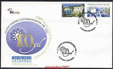 TURKEY 2011, 100TH YEAR YILDIZ TECHNICAL UNIVERSITY FDC