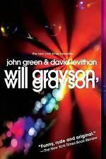 Will Grayson, Will Grayson by David Levithan, John Green (Paperback, 2011)