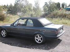 BMW E30  CABRIO VERDECK E 30 CABRIOVERDECK STOFF SCHWARZ NEU