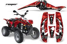 AMR RACING QUAD POLARIS DECAL ATV KIT SCRAMBLER TRAILBLAZER 200 400 500 REAPER R