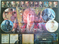 THE HOBBIT SUNDAY TIMES DOUBLE SIDED POSTER