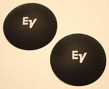 "E/V 4"" Dust Caps Dustcaps With White Logo Nos !"