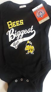 Minor League Baseball Salt Lake Bees Infant Creeper One Piece 12M Black