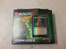 Land's Wrath Commander Deck Magic The Gathering Zendikar Rising MTG New Sealed