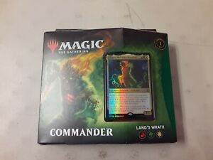 Land's Wrath Commander Deck Magic The Gathering Zendikar Rising MTG New Sealed