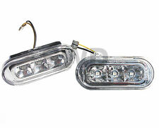 VW T5 Transporter Ámbar LED Indicadores Repetidores Laterales Cristal