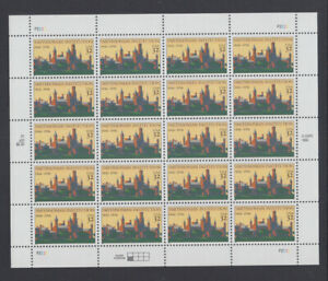 US #3059 Smithsonian Institution 32c Complete Sheet of 20 Mint Never Hinged