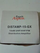 Distribution Amplifier Audio Video Signal Booster Eagle Aspen DISTAMP-15GX 15 dB