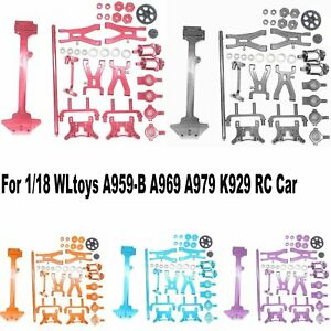 Metal Radio Tray Parts Upgrade Kit for 1/18 WLtoys A969 A979 K929 RC Car