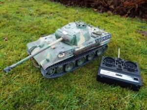 Heng Long 1/16 RC Panther G camo IR Servo Tank