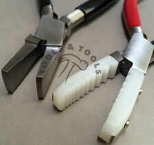 2 un. alicates conjunto Nylon mandíbulas Tubo Holding Pato cobran amplia mandíbulas Joyería Artesanías