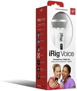IK Multimedia iRig Voice Smartphone/ Tablet Mic