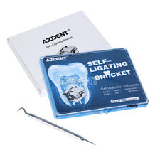 Dental Orthodontics Self-Ligating Brackets w/Buccal Tube Ormco Damon Q system