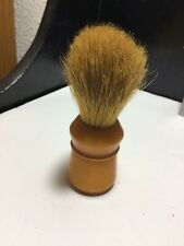 Vintage Made Rite Shaving Brush Badger Hair 500PB Butterscotch Bakelite Handle
