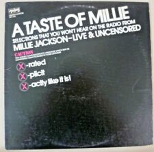 Vintage 33⅓ LP - A Taste Of Millie Jackson Live & Uncensored EP - Spring SPD405