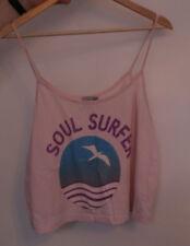 "Womans Asos Light Pink ""Soul Surfer"" Cami Top - Size 16"