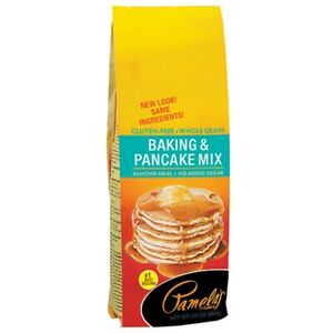PAMELAS, MIX PNCKE BAKING WF GF, 24 OZ, (Pack of 6)