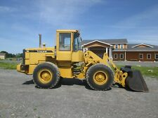 Used Volvo L70d Wheel Loader Quick Couple Bucket And Forks Cab Ac