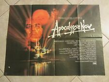 Apocalypse Now movie poster  - original uk quad Marlon Brando, Martin Sheen