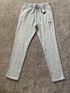 Mens Under Armour Loose Gray Sweat Pants Size Medium