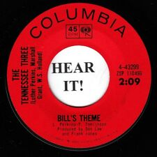 The Tennessee Three RAB BOPPER INSTRO 45 (Columbia 43299) Bill's Theme VG++