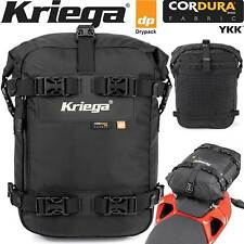 Kriega us-10 Drypack MOTO-Posteriore Borsa Cordura 10 Litri Impermeabile Bagagli