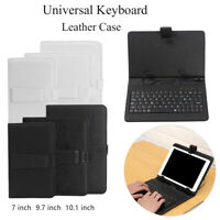 Multi-function PC Protective Shell Folding Stand USB Keyboard Smart Case