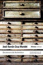 Diccionario de Archivística. NUEVO. Nacional URGENTE/Internac. económico. DICCIO