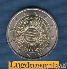 2 euro Commémo - France 2012 10 Ans de l'Euro