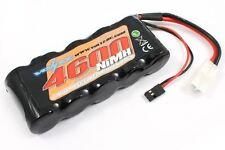 Voltz 4600mAH receptor 6.0V Paquete de Batería Sub-C Con Enchufe BEC/Jr [VZ0135]