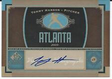 2012 MLB Baseball Sp Signature Edition Upper Deck #ATL4 TOMMY HANSON Atlanta